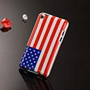 Coque Apple iPod Touch 4 Le drapeau des Etats-Unis Etui Rigide - Mixtes