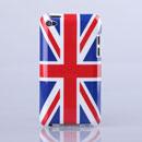 Coque Apple iPod Touch 4 Le drapeau du Royaume-Uni Etui Rigide - Mixtes