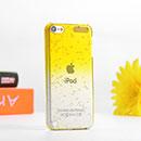 Coque Apple iPod Touch 5 Degrade Etui Rigide Cover - Jaune