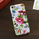 Coque Apple iPod Touch 5 Fleurs Silicone Housse Gel - Mixtes