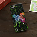 Coque Apple iPod Touch 5 Papillon Silicone Housse - Mixtes