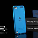 Coque Apple iPod Touch 5 Silicone Transparent Housse - Bleue Ciel