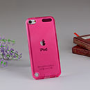 Coque Apple iPod Touch 5 Silicone Transparent Housse - Rose