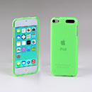 Coque Apple iPod Touch 5 Silicone Transparent Housse - Verte