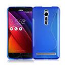 Coque Asus Zenfone 2 ZE551ML ZE550ML S-Line Silicone Gel Housse - Bleu