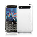 Coque Blackberry Classic Q20 S-Line Silicone Gel Housse - Blanche