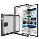 Coque Blackberry Passport Q30 Silicone Transparent Housse - Gris