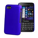 Coque Blackberry Q5 Plastique Etui Rigide - Bleu