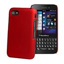 Coque Blackberry Q5 Plastique Etui Rigide - Rouge