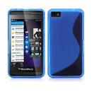 Coque Blackberry Z10 S-Line Silicone Gel Housse - Bleu