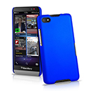 Coque Blackberry Z30 Plastique Etui Rigide - Bleu