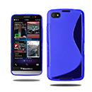 Coque Blackberry Z30 S-Line Silicone Gel Housse - Bleu