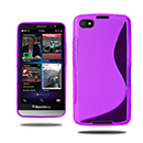 Coque Blackberry Z30 S-Line Silicone Gel Housse - Pourpre