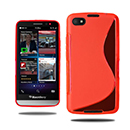 Coque Blackberry Z30 S-Line Silicone Gel Housse - Rouge