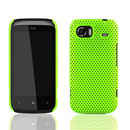 Coque HTC 7 Mozart HD3 Filet Plastique Etui Rigide - Verte