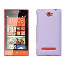 Coque HTC 8S Windows Phone Plastique Etui Rigide - Pourpre