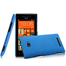 Coque HTC 8X Windows Phone Plastique Etui Rigide - Bleu