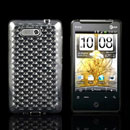 Coque HTC Aria G9 HD Mini T5555 Diamant Silicone Gel Housse - Claire