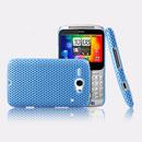 Coque HTC Chacha G16 A810e Filet Plastique Etui Rigide - Bleue Ciel
