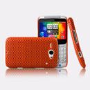 Coque HTC Chacha G16 A810e Filet Plastique Etui Rigide - Orange