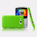 Coque HTC Chacha G16 A810e Filet Plastique Etui Rigide - Verte