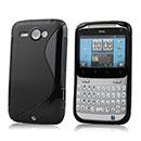 Coque HTC Chacha G16 A810e S-Line Silicone Gel Housse - Noire