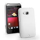 Coque HTC Desire 200 Plastique Etui Rigide - Blanche