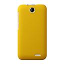 Coque HTC Desire 310 Plastique Etui Rigide - Jaune