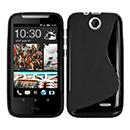 Coque HTC Desire 310 S-Line Silicone Gel Housse - Noire