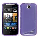 Coque HTC Desire 310 S-Line Silicone Gel Housse - Pourpre