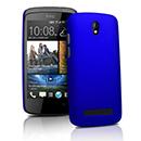 Coque HTC Desire 500 Plastique Etui Rigide - Bleu