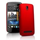 Coque HTC Desire 500 Plastique Etui Rigide - Rouge