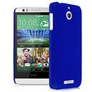Coque HTC Desire 510 Plastique Etui Rigide - Bleu