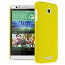 Coque HTC Desire 510 Plastique Etui Rigide - Jaune