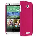 Coque HTC Desire 510 Plastique Etui Rigide - Rose Chaud