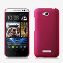 Coque HTC Desire 616 Plastique Etui Rigide - Rose Chaud