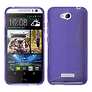 Coque HTC Desire 616 S-Line Silicone Gel Housse - Pourpre
