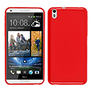 Coque HTC Desire 816 Silicone Gel Housse - Rouge