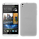 Coque HTC Desire 816 Silicone Transparent Housse - Blanche