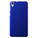 Coque HTC Desire 820 Plastique Etui Rigide - Bleu
