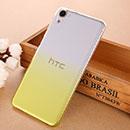 Coque HTC Desire 826 826W Degrade Etui Rigide - Jaune