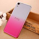 Coque HTC Desire 826 826W Degrade Etui Rigide - Rose Chaud