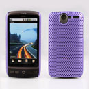 Coque HTC Desire Bravo G7 A8181 Filet Plastique Etui Rigide - Pourpre