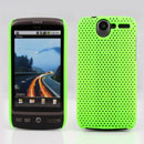 Coque HTC Desire Bravo G7 A8181 Filet Plastique Etui Rigide - Verte