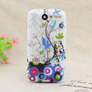 Coque HTC Desire Bravo G7 A8181 Fleurs Silicone Housse Gel - Verte