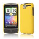 Coque HTC Desire Bravo G7 A8181 Plastique Etui Rigide - Jaune
