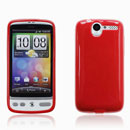 Coque HTC Desire Bravo G7 A8181 Silicone Gel Housse - Rouge