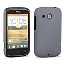 Coque HTC Desire C A320e Sables Mouvants Etui Rigide - Gris