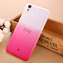 Coque HTC Desire Eye M910X Degrade Etui Rigide - Rose Chaud
