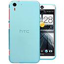 Coque HTC Desire Eye M910X Silicone Transparent Housse - Bleue Ciel
